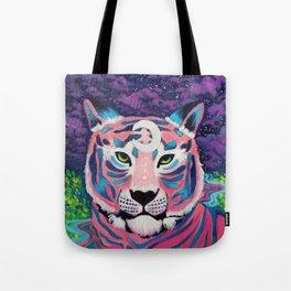 Moon River Tiger Tote Bag