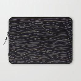 wave-stripe pattern Laptop Sleeve
