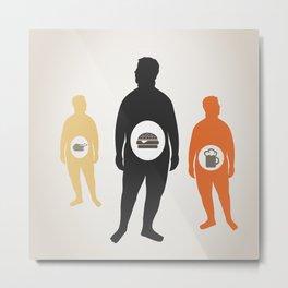 Fat man3 Metal Print
