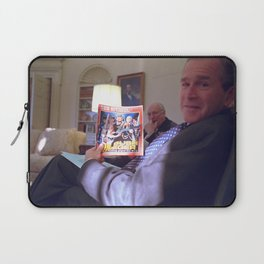 Bush the Warrior Laptop Sleeve