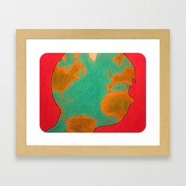 """The Hidden World Within"" Framed Art Print"
