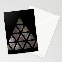 Galaxy Triangular Multicolor Stationery Cards