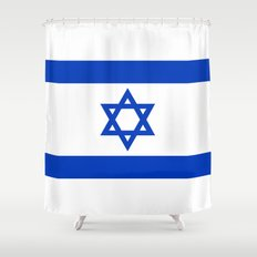 National flag of Israel Shower Curtain