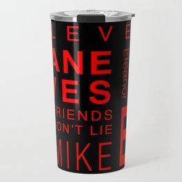 Eleven:Stranger Things - tvshow Travel Mug