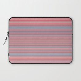 Pink Blue Stripes Laptop Sleeve