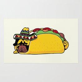 Pug Taco Rug