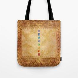 Chakras Kali   Beyond the time  Tote Bag