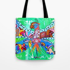 PARROFLY WITH ME! Tote Bag