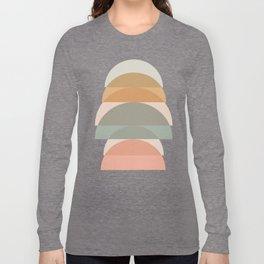Geometric 01 Long Sleeve T-shirt
