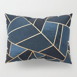 Navy Stone Pillow Sham