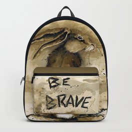 Be Brave Rabbit Backpack