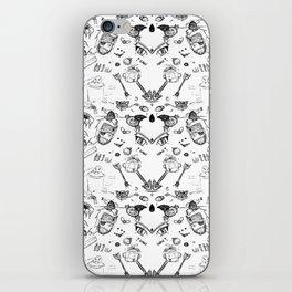 Crazy Draw about nintendo, wii u, metal gear iPhone Skin
