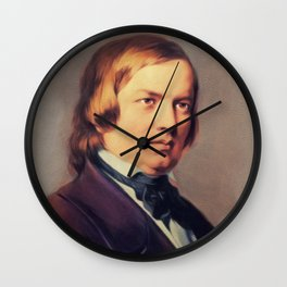 Robert Schumann, Music Legend Wall Clock