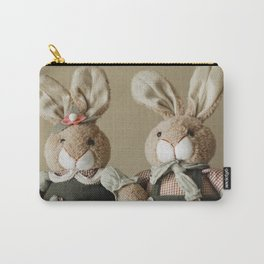 Bunny Couple Carry-All Pouch