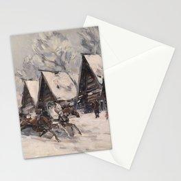 KOROVIN, KONSTANTIN (1861-1939) Winter Landscape Stationery Cards