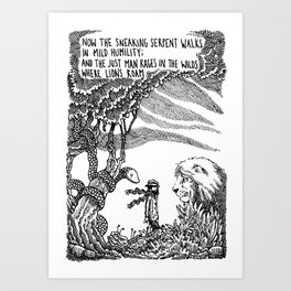 William Blake Illustration Art Print