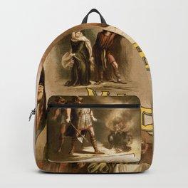 Vintage Macbeth Theatre Poster Backpack