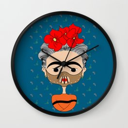 Hannibal Kahlo Wall Clock