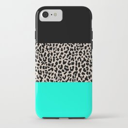 Leopard National Flag VII iPhone Case