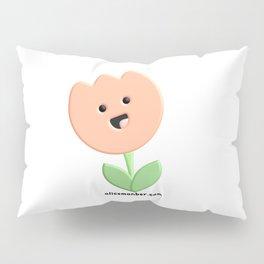 Cute Tulip Flower Pillow Sham