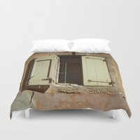 window Duvet Covers featuring Window by Maria Heyens