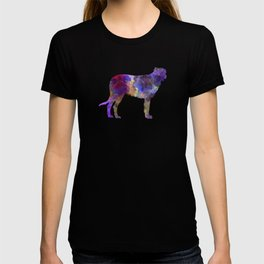 Irish Wolfhound in watercolor T-shirt