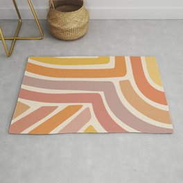 Abstract Stripes IV Rug