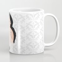 glasses Mugs featuring Glasses by Jasocorp