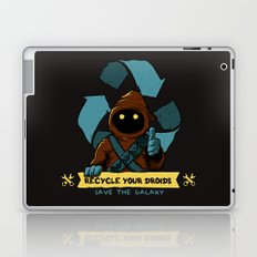 Recycle your droid Laptop & iPad Skin