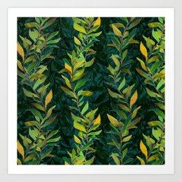 Pond Seaweed Pattern by Robert Phelps Art Print