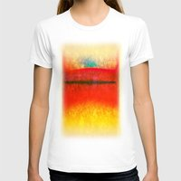 rothko T-shirts featuring After Rothko 8 by Gary Grayson