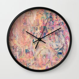 Hanging Out in Palma Wall Clock