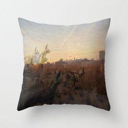 wilderness 5 Throw Pillow