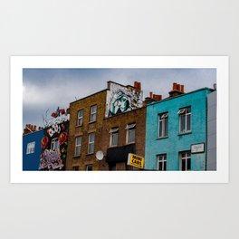 Looking Down Camden Street Art Print