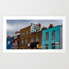 Looking Down Camden Street Art Print