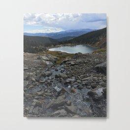 St. Mary's Glacier Metal Print