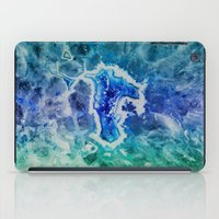 minerals iPad Cases featuring MINERAL MAZE by Catspaws