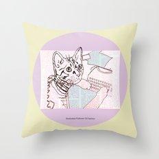 Dedicated Follower Of Fashion  Throw Pillow