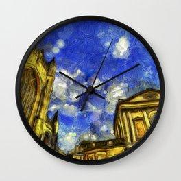 City Of Bath Vincent Van Gogh Wall Clock