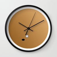 ace Wall Clocks featuring ace by papadopoulou gesthimani