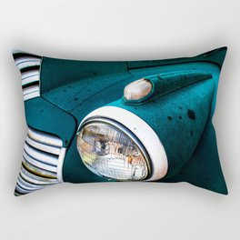 Green Machine Rectangular Pillow