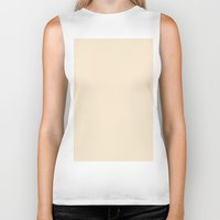 champagne Biker Tanks featuring Champagne by List of colors