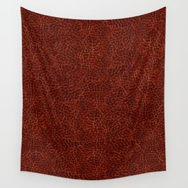 Rusty leather background textured abstract Wall Tapestry