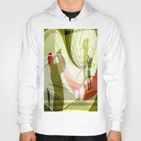 golf Hoodies featuring Golf by Robin Curtiss