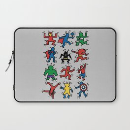 Keith Superheroes Laptop Sleeve