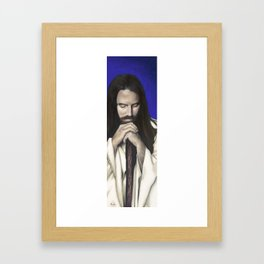 Father Canst Thou Hear Me Framed Art Print