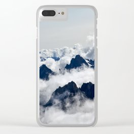 mountain # 5 Clear iPhone Case