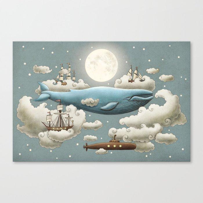 Ocean Meets Sky Leinwanddruck