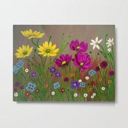 Spring Wild flowers  Metal Print