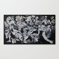 Pornica Canvas Print